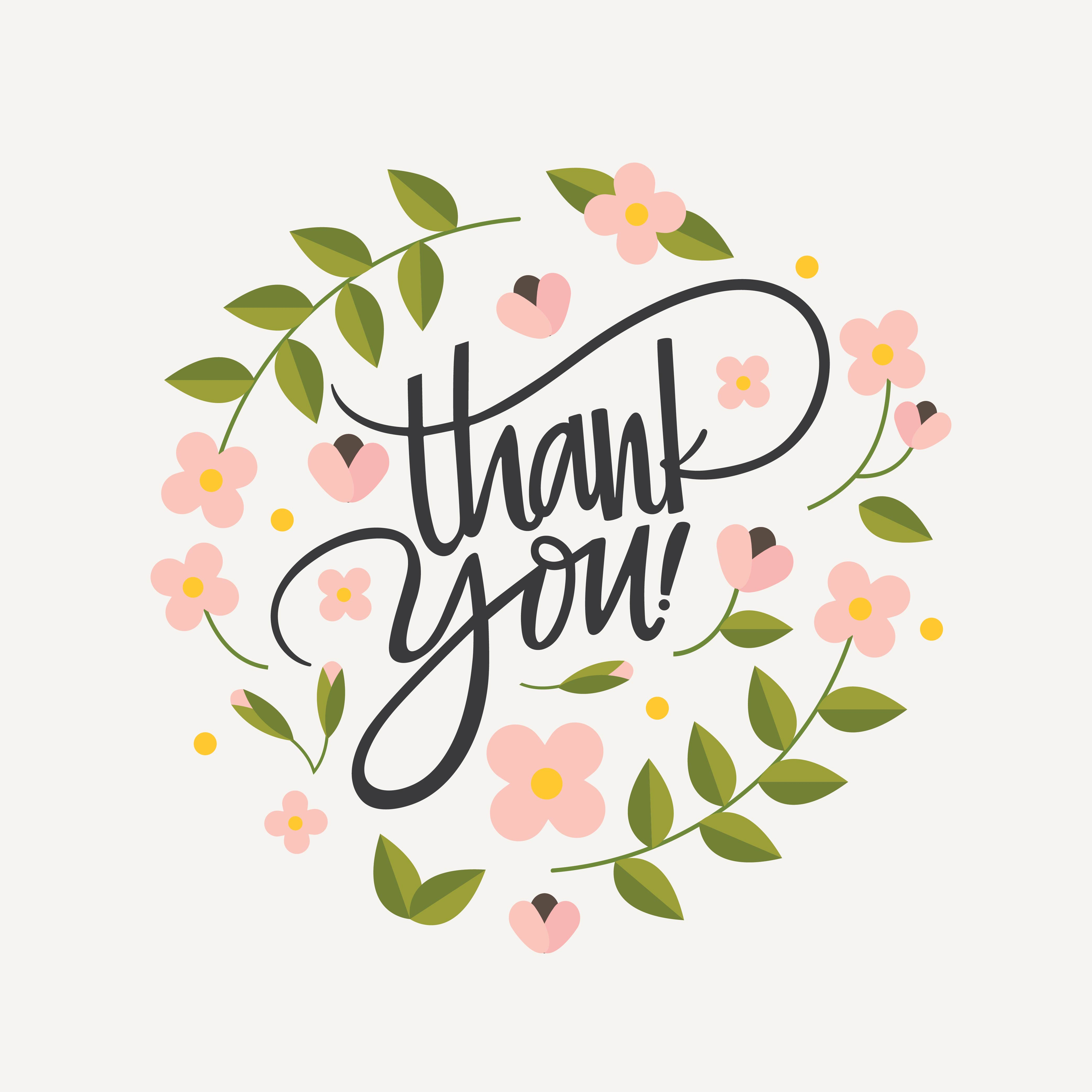 hand lettering thank you vector download free vector art free clipart mothers day flowers free clipart mothers day borders