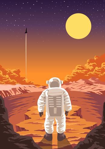 Exploración de Marte - Descargue Gráficos y Vectores Gratis