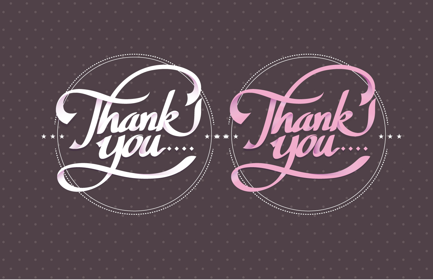Thank You Typography Vector Download Free Vector Art