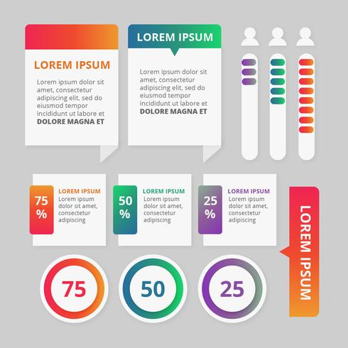 Vector Colorful Infographics