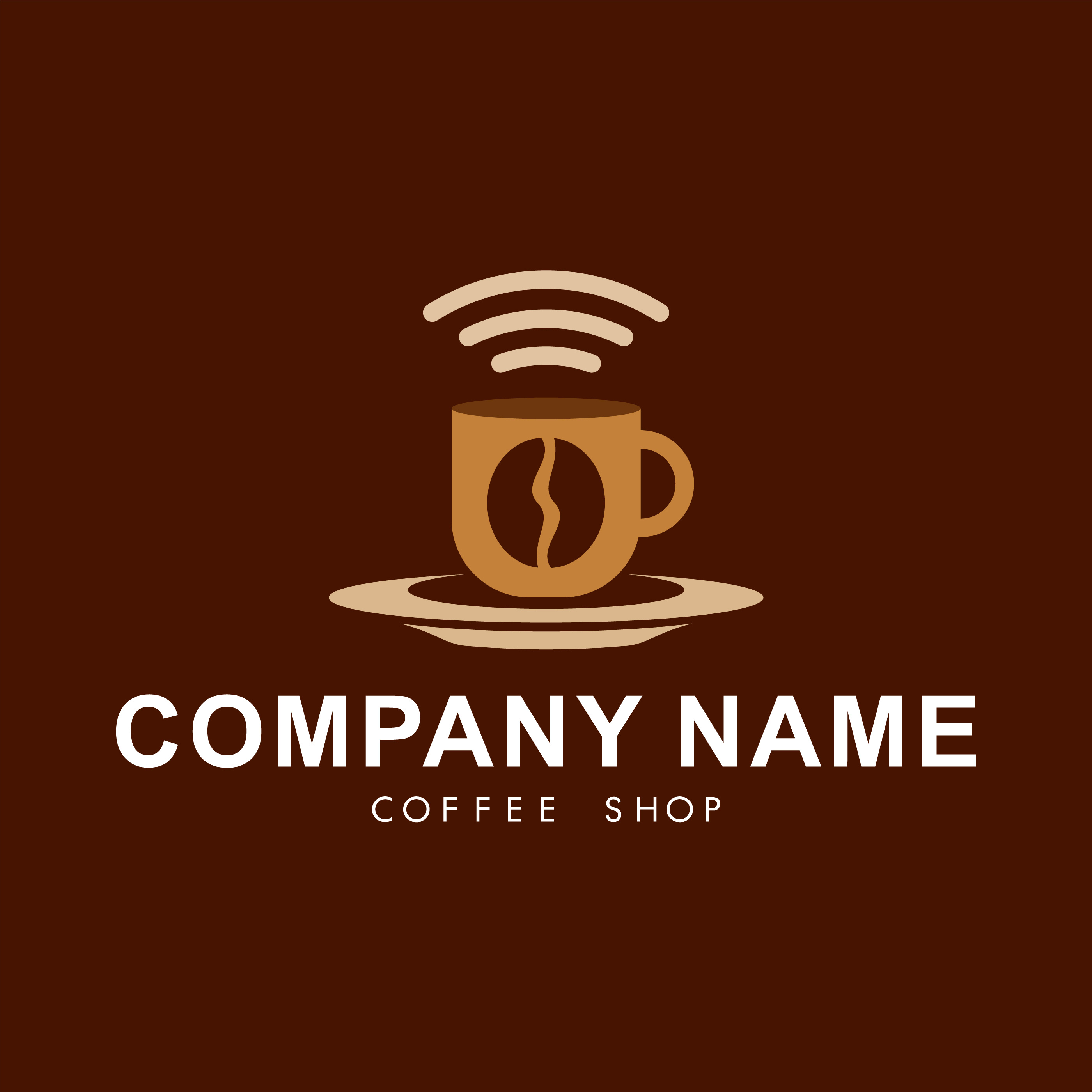 Coffee Shop Logo Template 182421