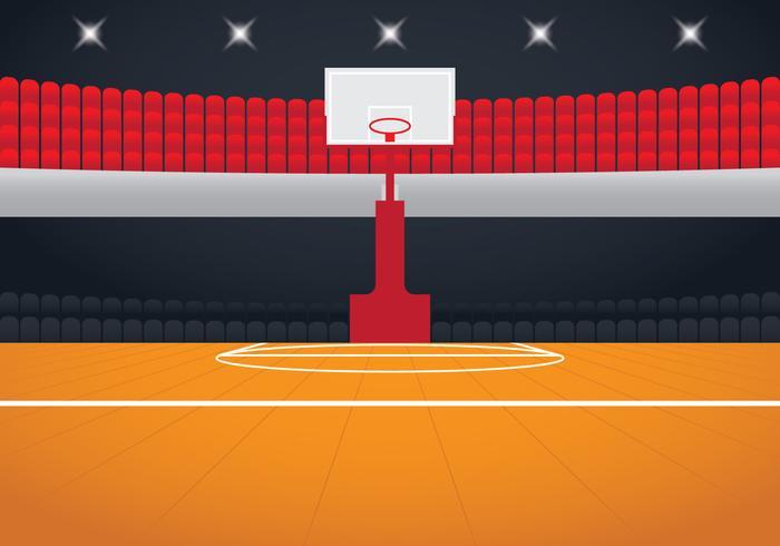 Realistic Basketball Arena