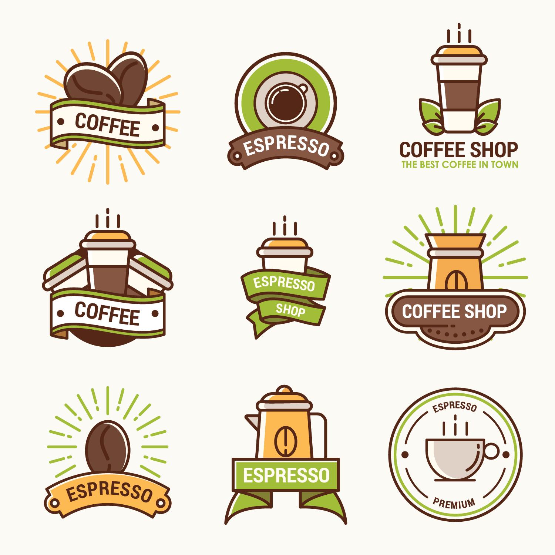 Logotipo de cafetería - Descargue Gráficos y Vectores Gratis