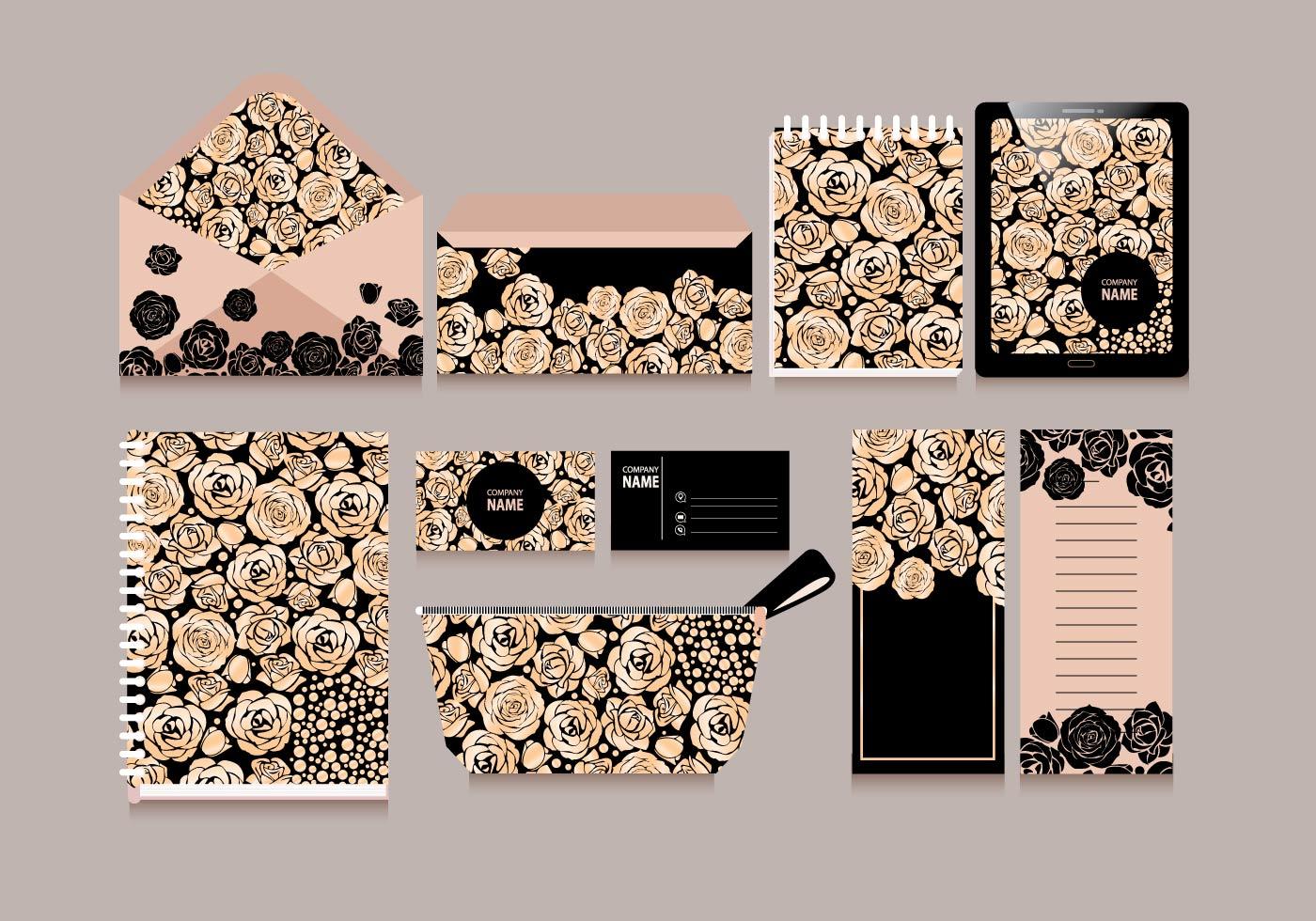 rose border free vector art 5963 free downloads