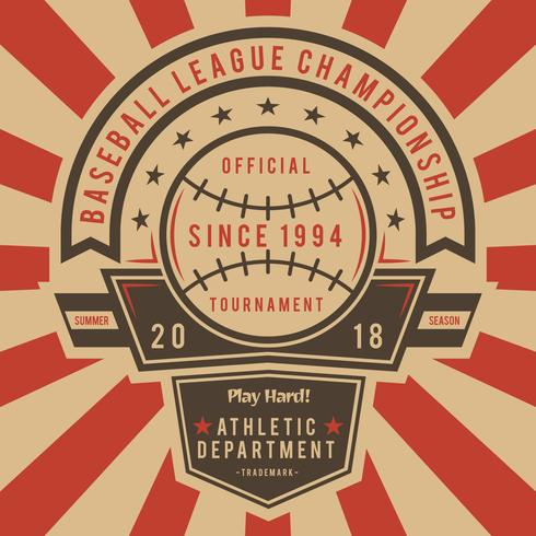 Iconic Vintage Baseball Vectors - Download Free Vector Art, Stock Graphics & Images