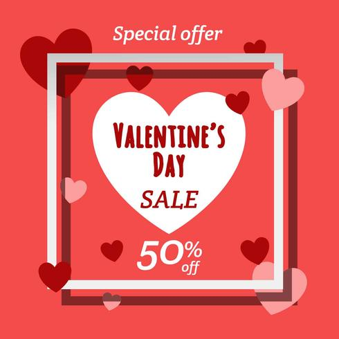 Valentines Day Sale Banner Download Free Vector Art Stock