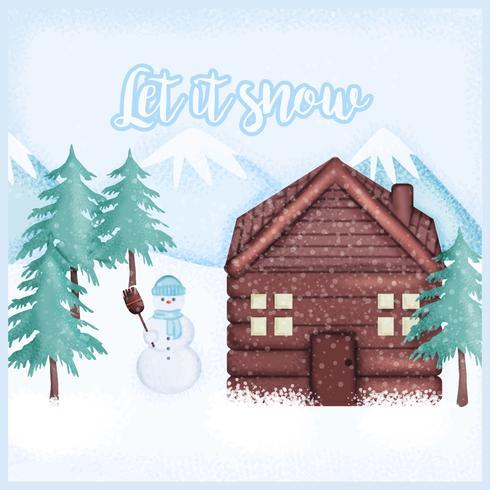 Vector Winter Illustration