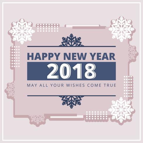 Vector New Year Card
