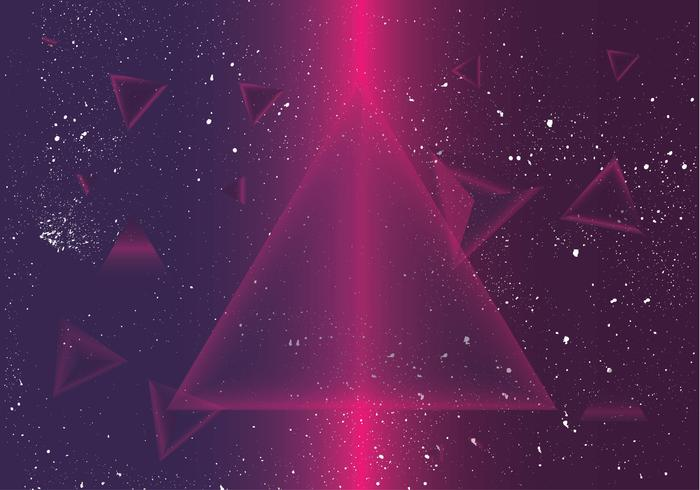 prisma disco background vector