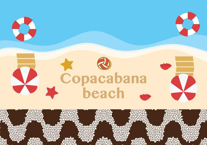 Vecteur de Texture de Copacabana