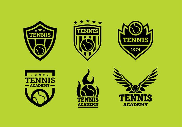 Tennis Logo Free Vector - Download Free Vector Art, Stock Graphics & Images