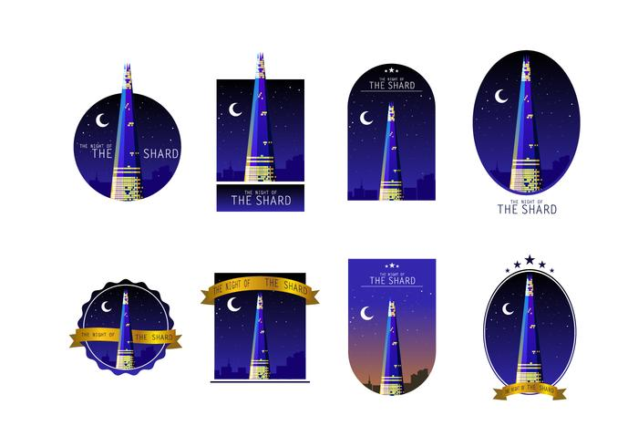 The Night Of The Shard Gratis Vector