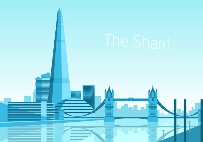 The Shard Free Vector
