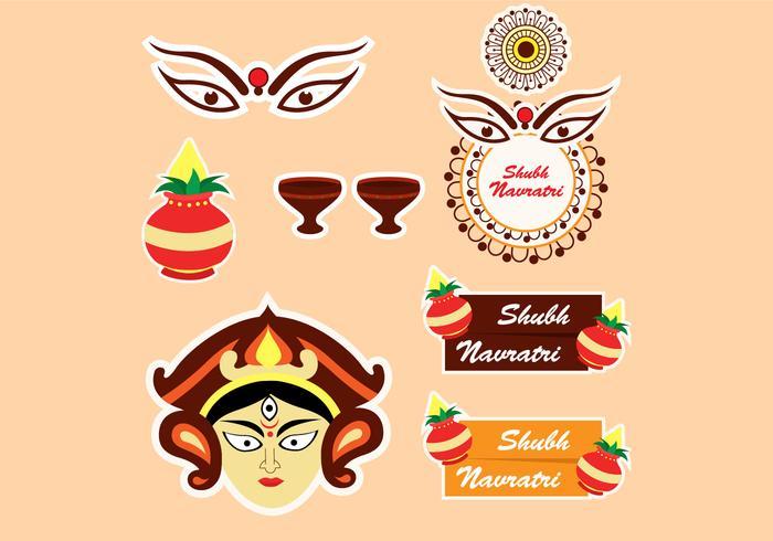 Ícone do festival Shubh Navratri