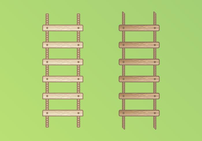 Rope Ladder Illustration