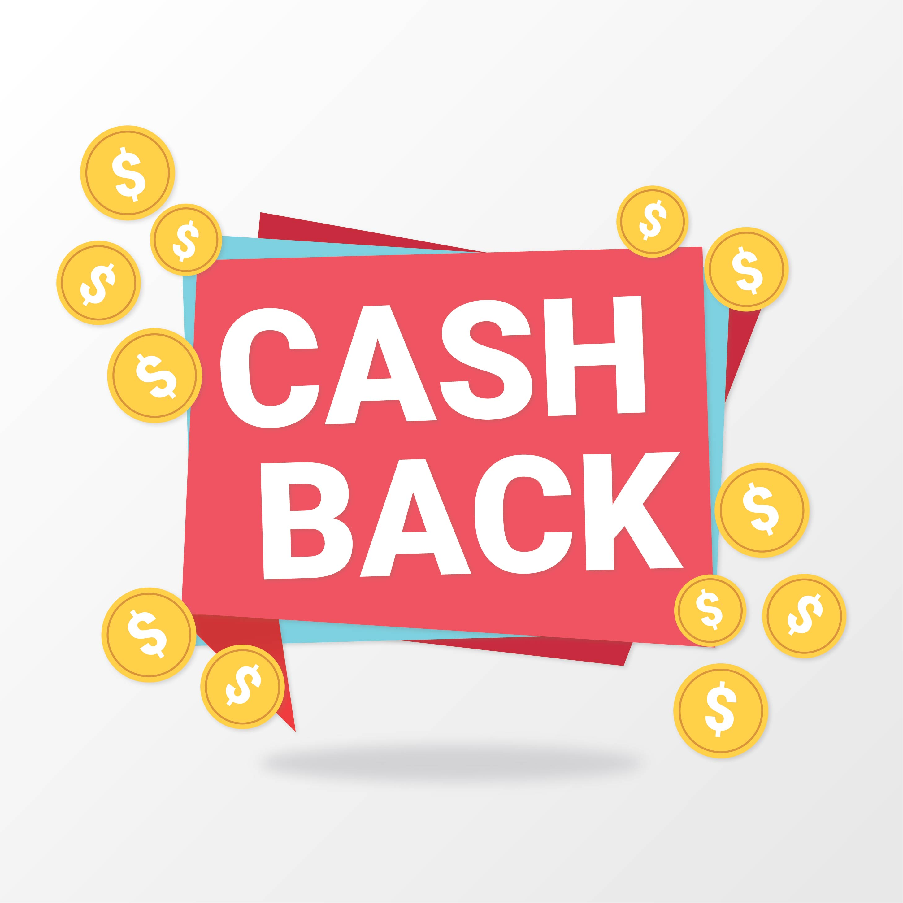 Cash Back Isolated Sign - Download Free Vector Art, Stock Graphics & Images