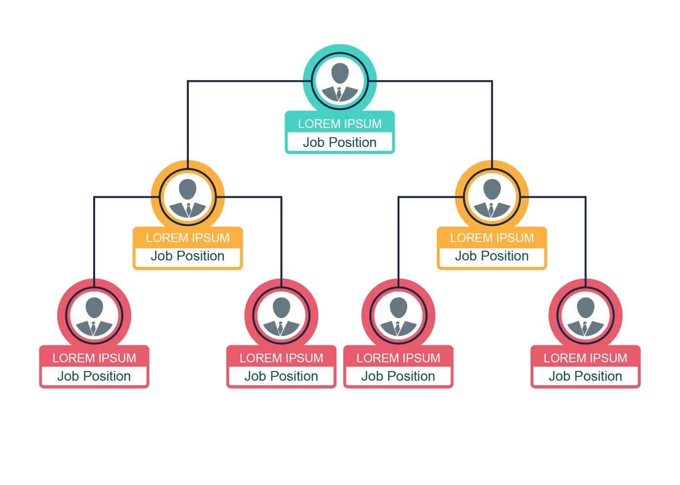 business organogram chart download free vector art