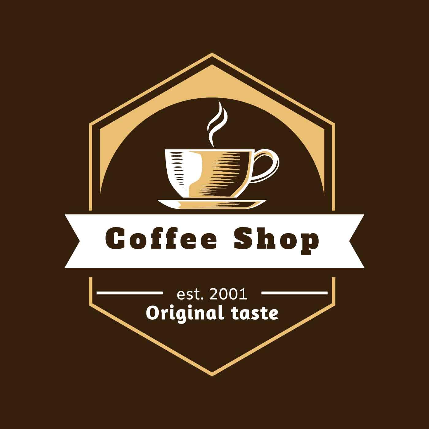 Cafe Logo Free Vector Art
