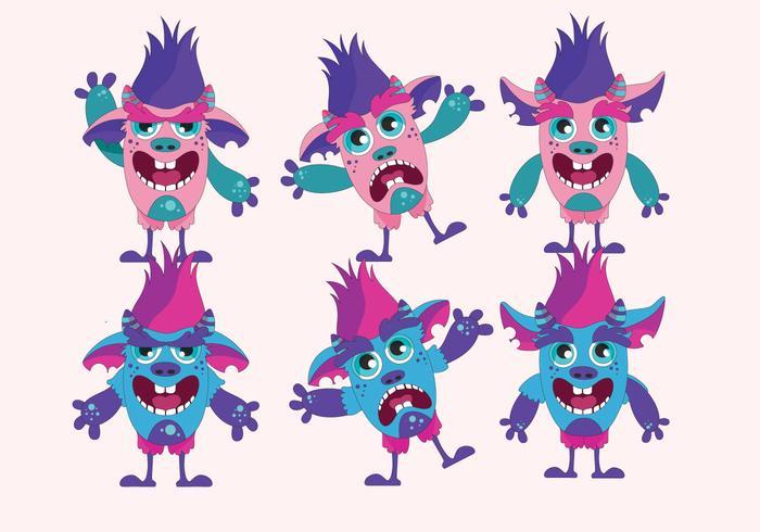 vector de Trolls