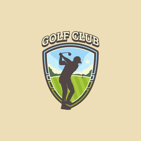 Vintage Golf Emblem