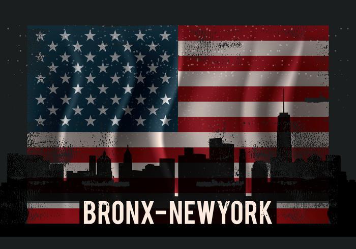 Vintage Bronx Abbildung