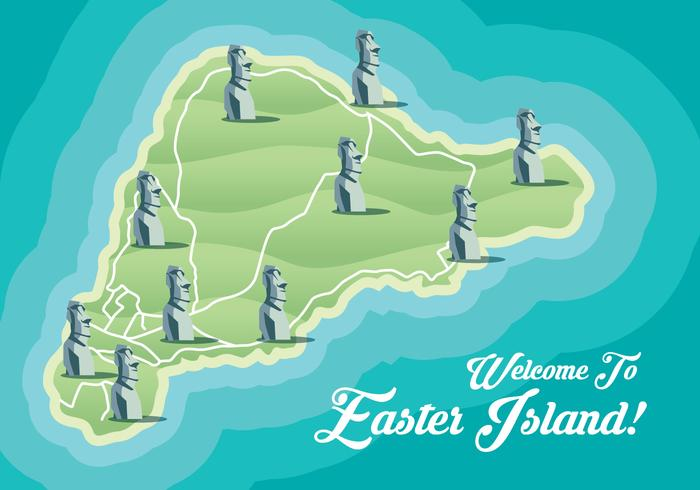 Easter Island Map Download Free Vector Art Stock Graphics Images