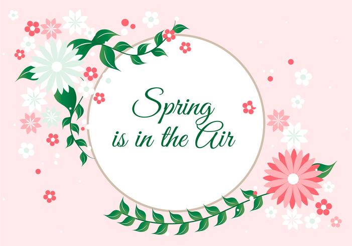 Free Spring Season Vector Background - Download Free Vector Art, Stock Graphics & Images