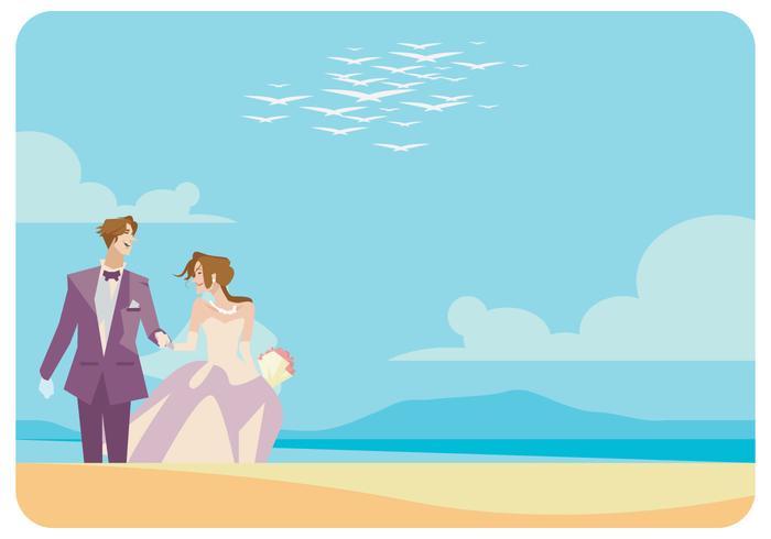 新郎新娘卡通圖 免費下載 | 天天瘋後製