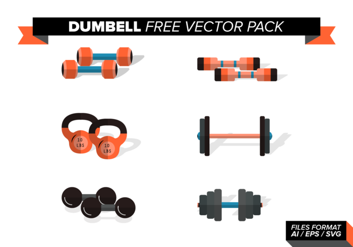 pack de vecteur libre dumbell vol. 2