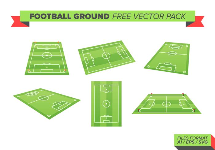 Football Ground Gratis Vector Pack