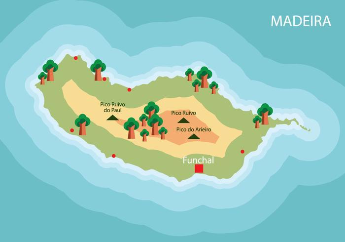Madeira kaart