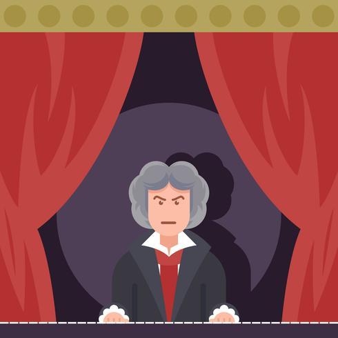 Beethoven spielt Klavier