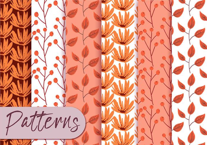 Levendige roze patroonreeks