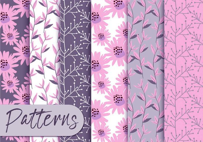 Soft Pink Pattern Set