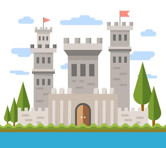 Flat Castle Design