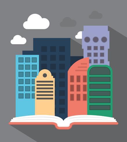 Ciudad en el libro
