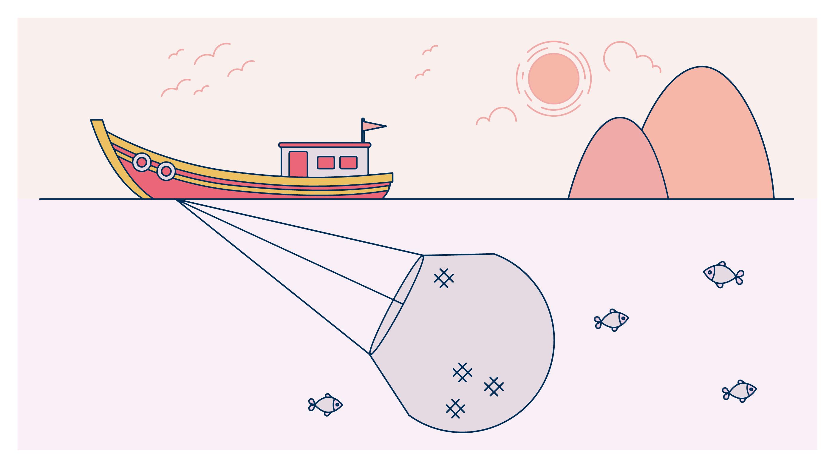 Net Fishing Vector - Download Free Vector Art, Stock ...