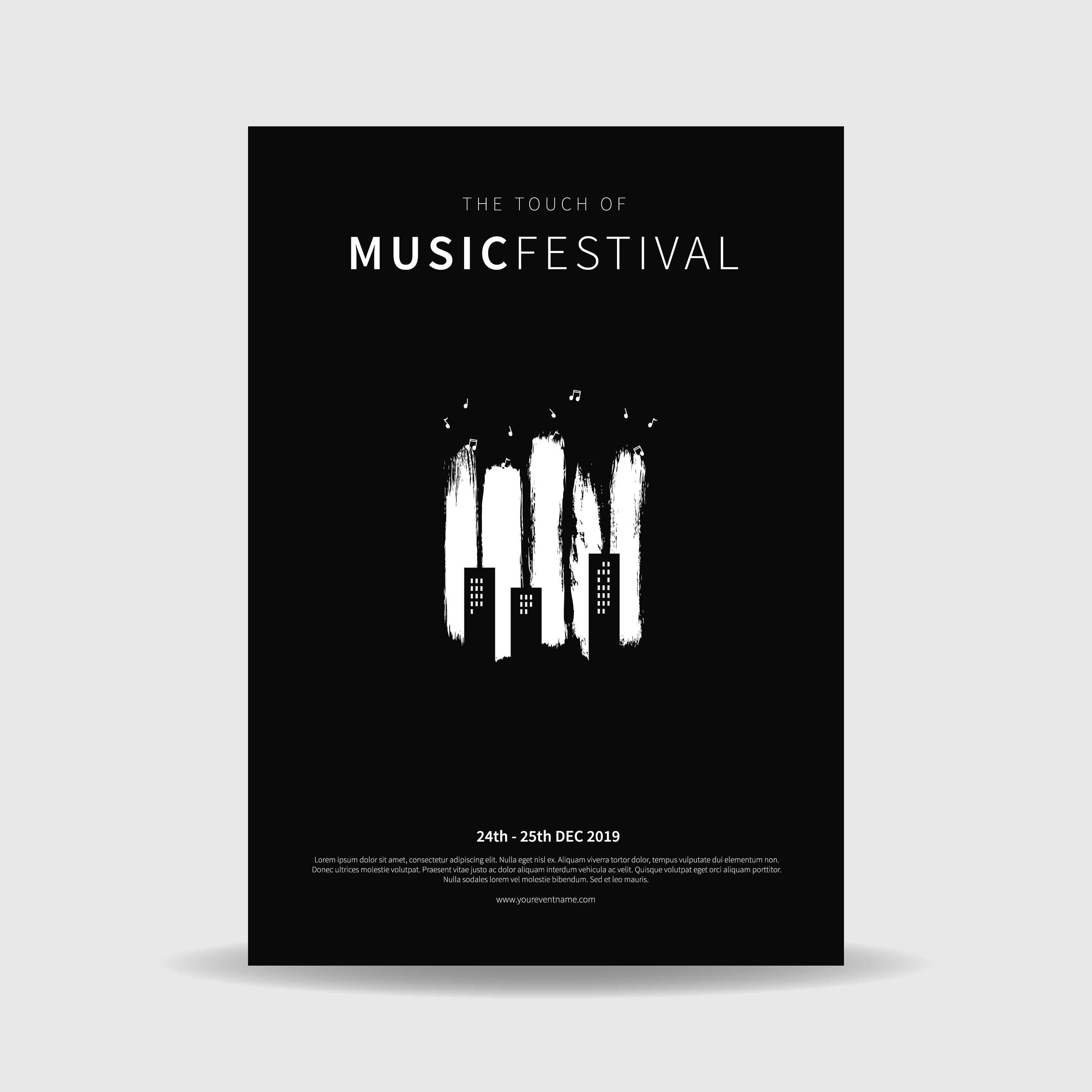 Music Festival Poster Vector - Download Free Vector Art ...