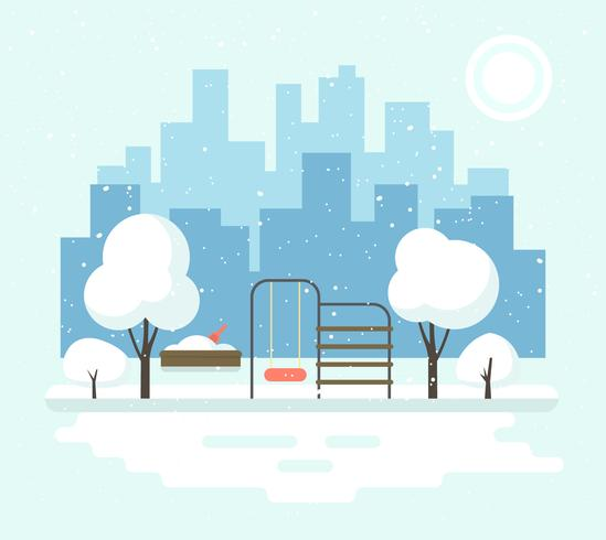 Paisagem de Inverno Urbano