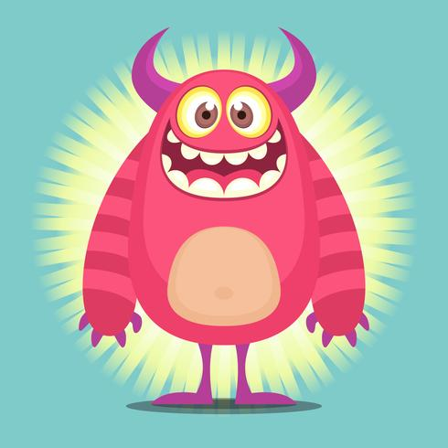 Illustration de personnage mignon Cartoon Troll