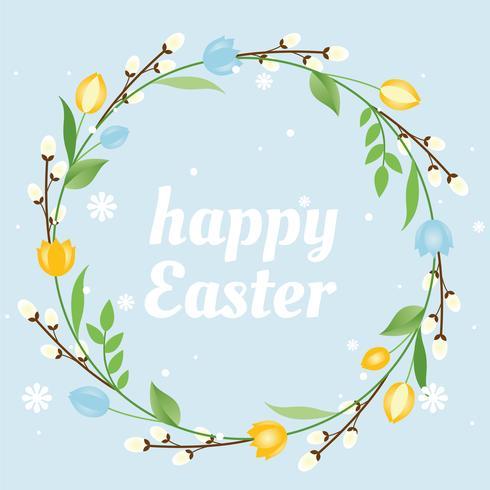 Feliz fondo de Pascua