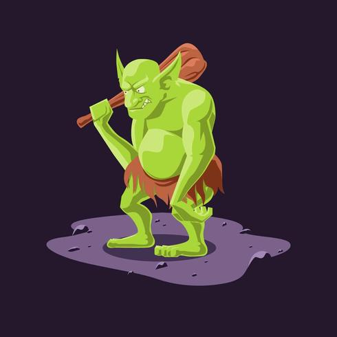Trolls Illustratie Vector