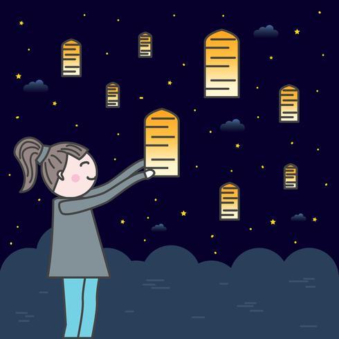 Sky Lantern Festival
