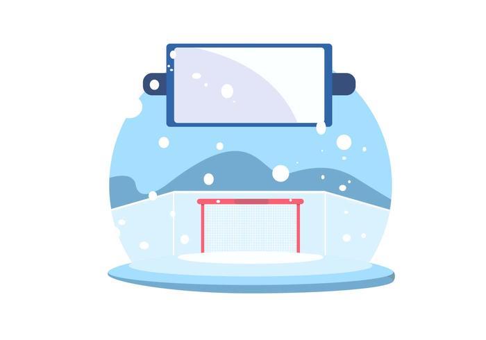 Ice Hockey Vector