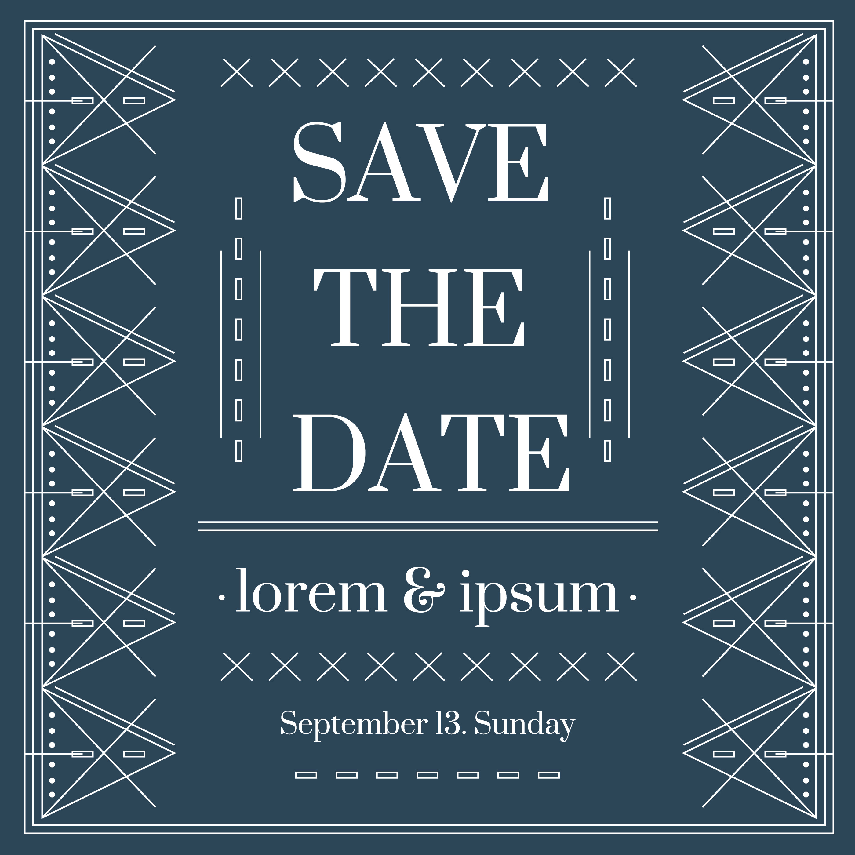 Save the date vector download free vector art stock graphics images for Save the date vector