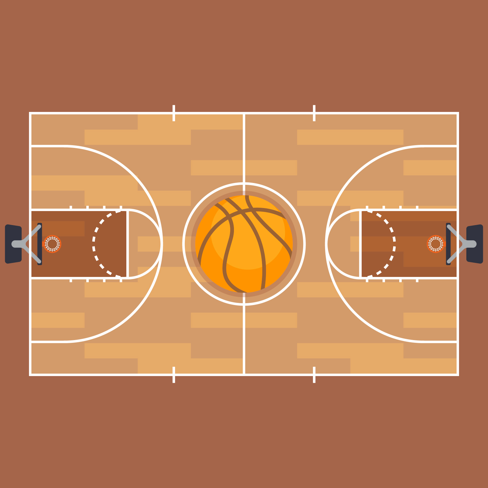Basketball And Basketball Court Floor Plan Download