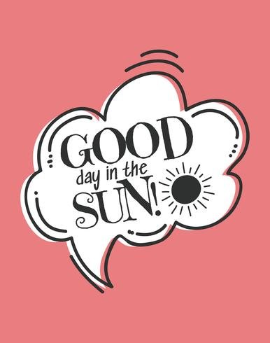 Good Day in the Sun Wall Art Poster