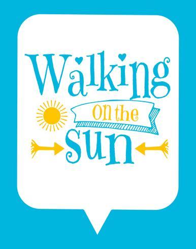 Poster tipográfico bonito dos miúdos com citações de Sun