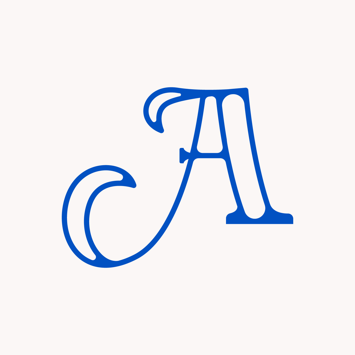 A  Letter A typogr...