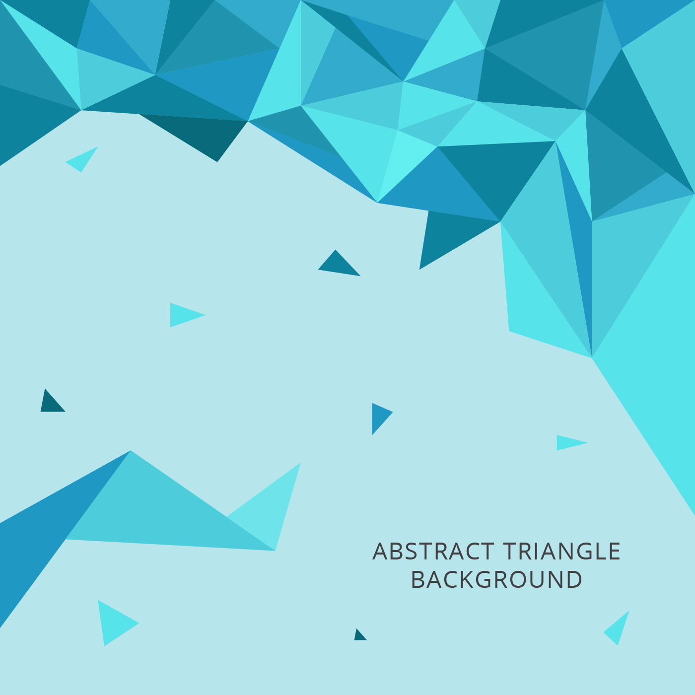 Abstract Triangles Vector Background - Download Free ...